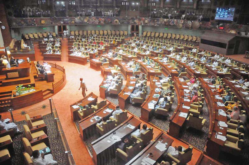 Sindh Assembly. PHOTO: FILE