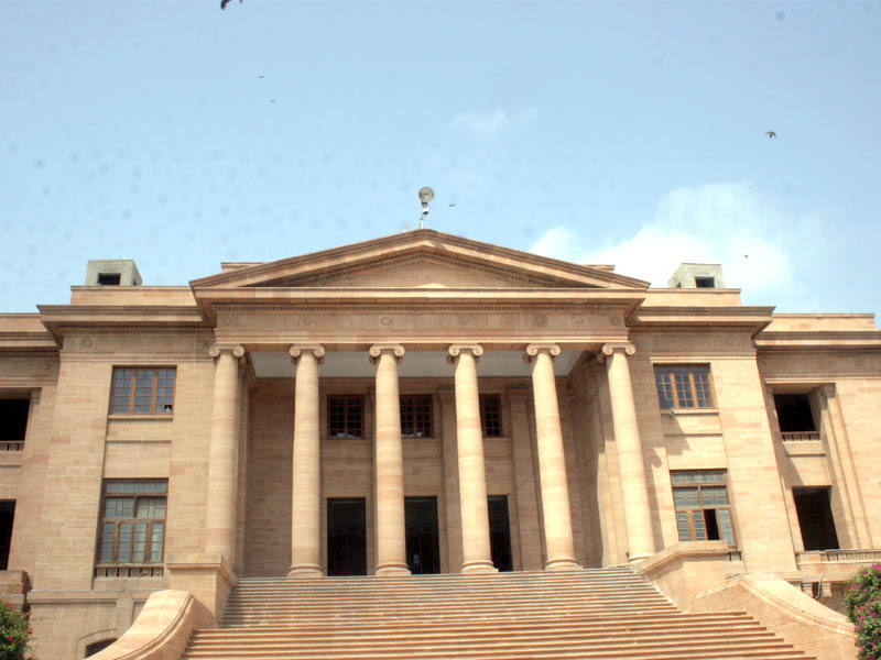 Sindh High Court. PHOTO: EXPRESS