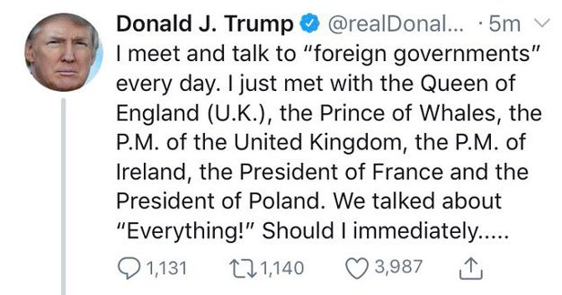 Trump in 'Prince of Whales' Twitter gaffe
