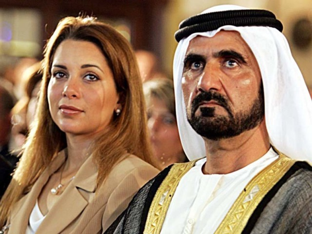 Sheikh Mohammed bin Rashid Al Maktoum with Princess Haya bint Al Hussein. PHOTO: FILE