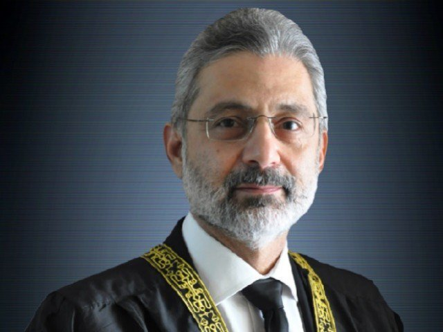 Justice Qazi Faez Isa. PHOTO: FILE