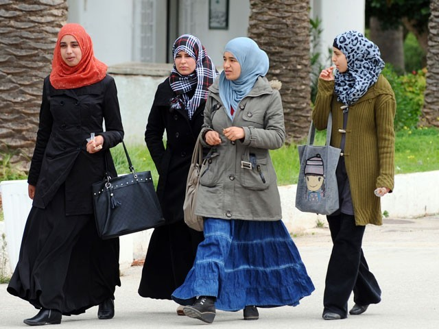 Tunisia's PM Chahed bans niqab in govt offices 'for security reasons'