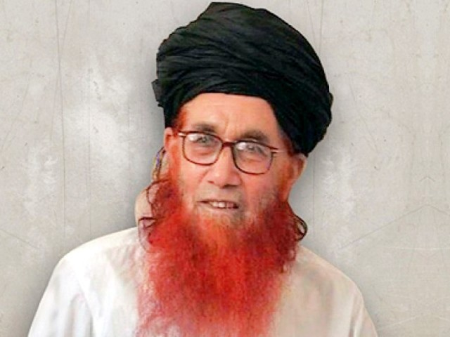 Maulana Sufi Muhammad. PHOTO: FILE