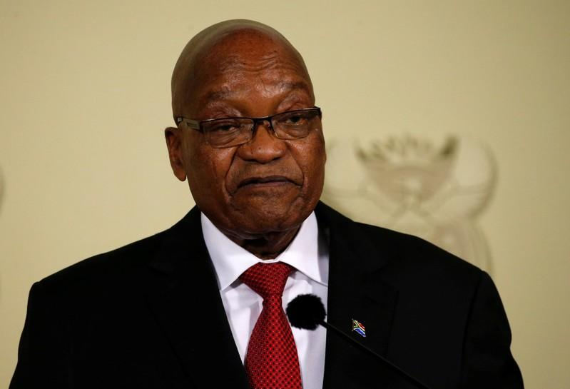 Former President Jacob Zuma PHOTO: REUTERS