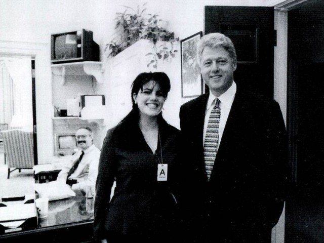 Monica Lewinsky Presidential Dick Suck Haunts Her!!