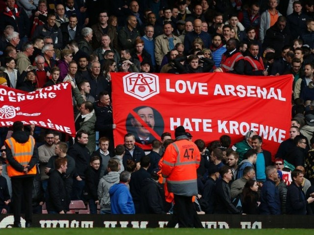Buck stops with 'passive' Kroenke for Arsenal fans