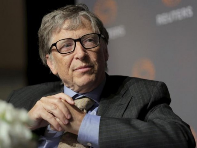 Bill Gates.  PHOTO: REUTERS
