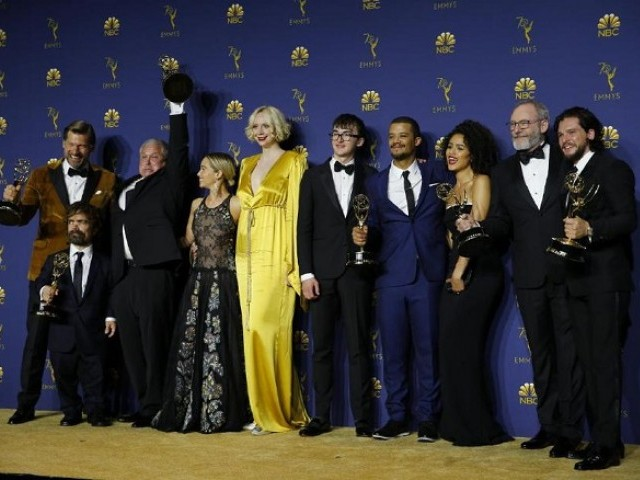Show's divisive final season smashes record for most nominations by a drama series in a single year. PHOTO: REUTERS/FILE