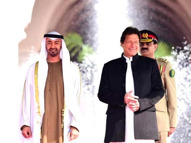 PM Imran telephones UAE's crown prince, lauds support on FATF Premier also appreciates release of 700 Pakistani prisoners during Ramazan. PHOTO: FILE