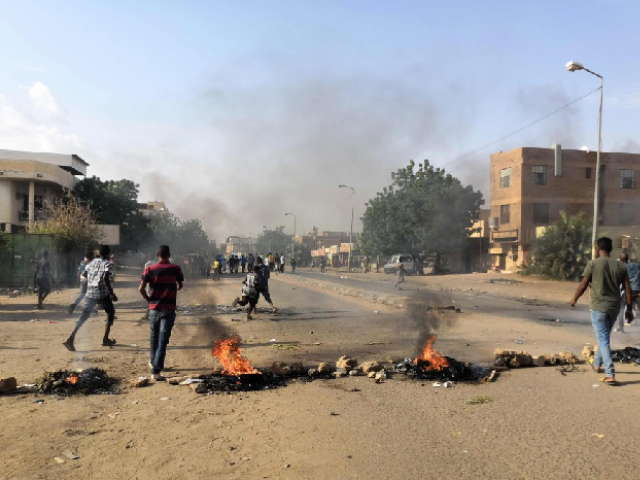 Four Sudanese school students were among six demonstrators shot dead on Monday during a rally against shortages of bread and fuel. PHOTO: AFP