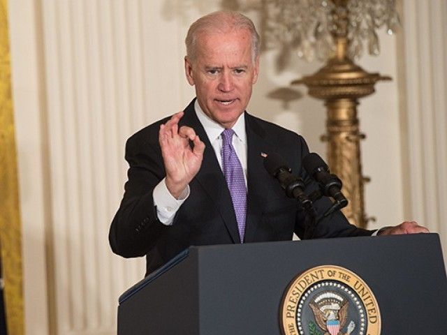 Joe Biden. PHOTO: AFP