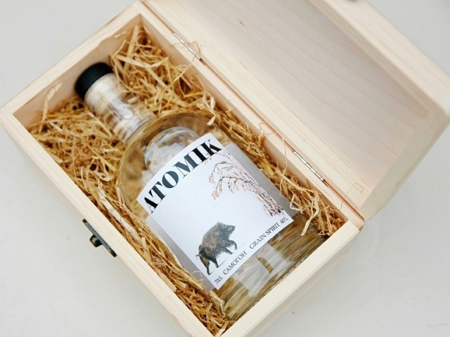 Scientists make vodka from rye grown near Chernobyl