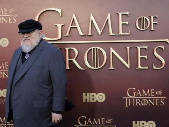 "FILE PHOTO - Co-executive producer George R.R. Martin arrives for the season premiere of HBO's ""Game of Thrones"" in San Francisco, California, U.S. on March 23, 2015. PHOTO: REUTERS"