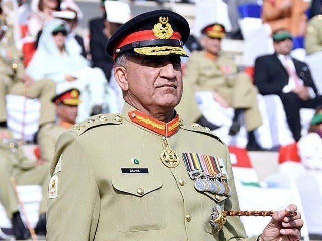 COAS General Bajwa. PHOTO: EXPRESS