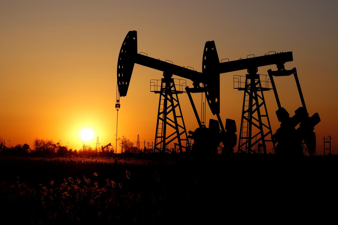 Rally in equity markets around the world gave oil prices a floor. PHOTO: REUTERS