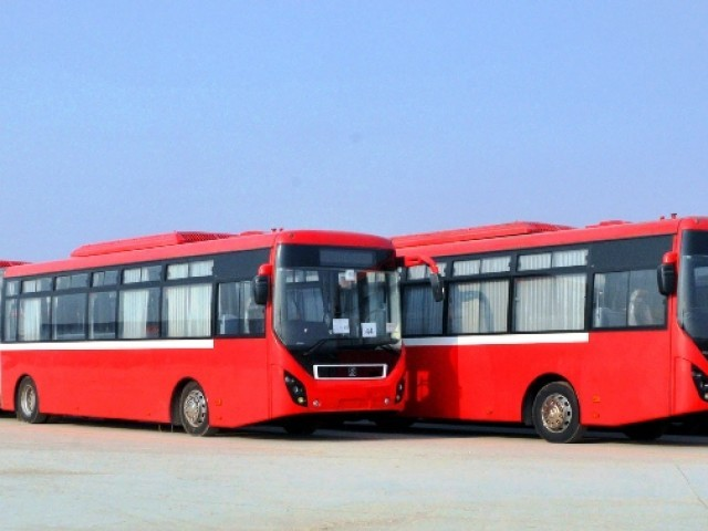 A file photo of Metro Bus  PHOTO: EXPRESS