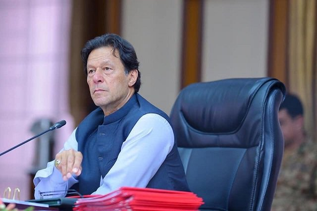 Pakistan PM Imran Khan holds meeting of Kashmir Core Group