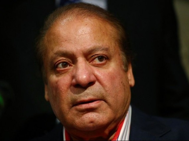 Former prime minister Nawaz Sharif. PHOTO: REUTERS/FILE