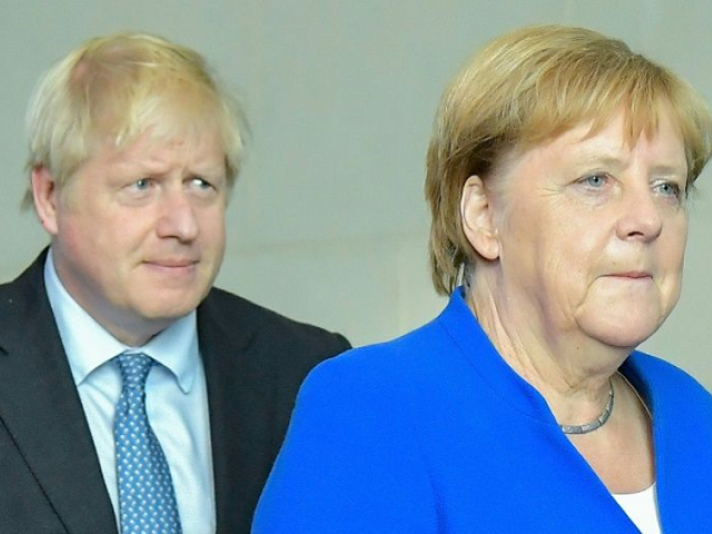 "Merkel said perhaps an agreement would be possible within ""30 days"". PHOTO: AFP"