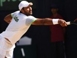 Leading Pakistani tennis player Aisam Qureshi. PHOTO: AFP