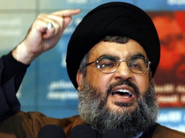 Hassan Nasrallah vows to do everything to prevent such attacks. PHOTO: REUTERS