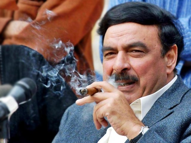 Railways Minister Sheikh Rashid. PHOTO: AGENCIES/FILE