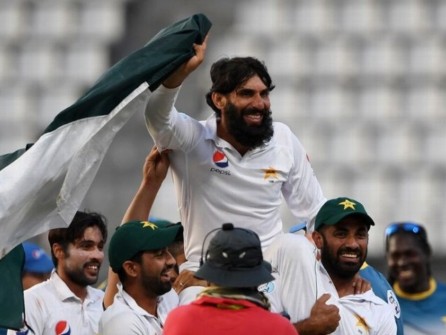 HUGE RESPONSIBILITY: The PCB has appointed Misbah as the head coach and chief selector which means he will have to deliver on not one but two fronts. PHOTO: AFP