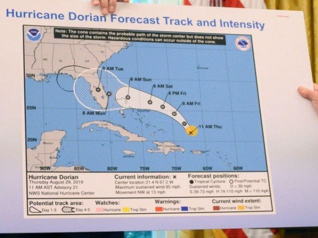 Gov. Northam declares state of emergency ahead of Hurricane Dorian