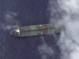what-appears-to-be-the-iranian-oil-tanker-adrian-darya-1-off-the-coast-of-tartus-syria-is-pictured-in-this-september-6-2019-satellite-image-provided-by-maxar-technologies