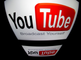 In this file photo taken on December 4, 2012 the YouTube logo is seen on a tablet screen in Paris. PHOTO: AFP