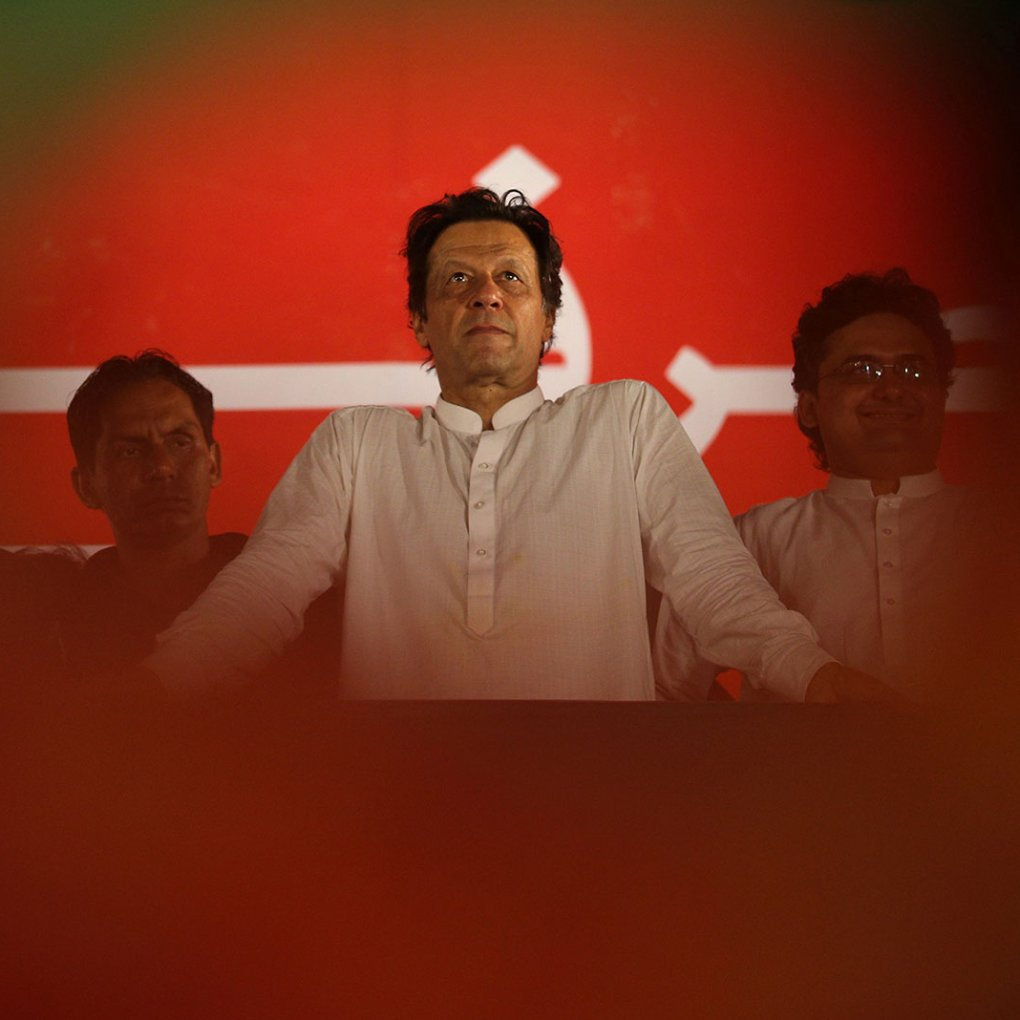 Prime Minister Imran Khan of PTI. (PHOTO: REUTERS)