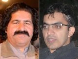 MNAs Mohsin Dawar and Ali Wazir. PHOTO: FILE