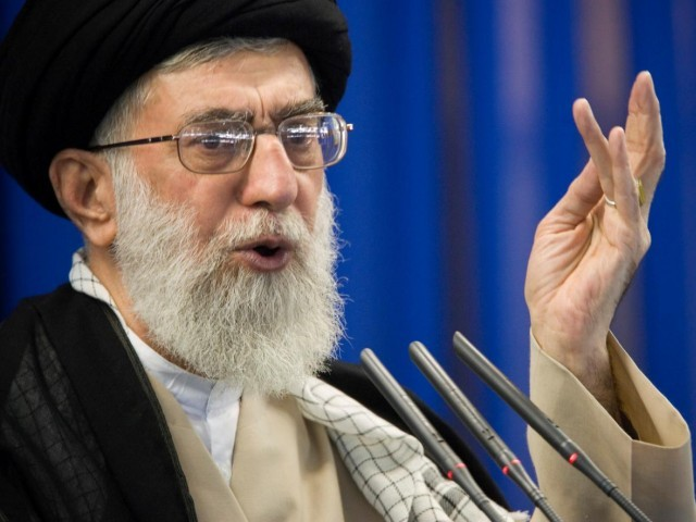Iran's Supreme Leader Ayatollah Ali Khamenei (PHOTO REUTERS)