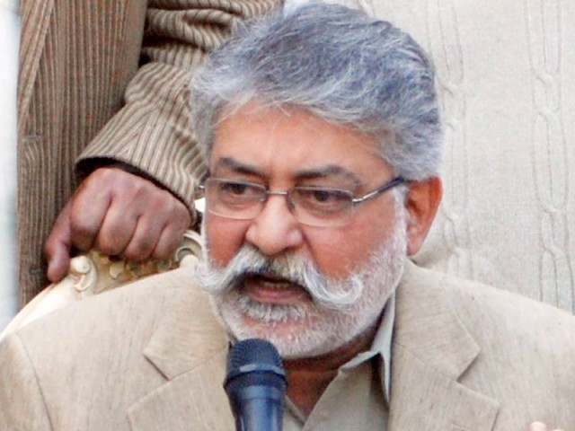 Head of the Grand Democratic Alliance Pir Pagara Sibghatullah Shah Rashdi. PHOTO: FILE