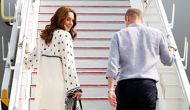 Kate Middleton looks pristine in white as royal tour nears end