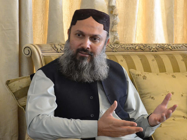 Balochistan Chief Minister Jam Kamal Khan. PHOTO: FILE
