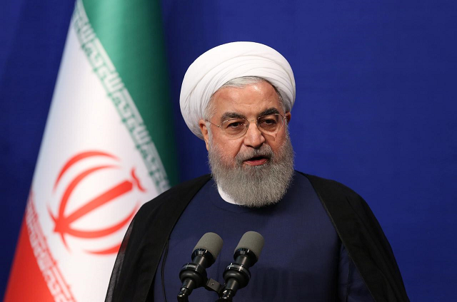 Iranian President Hassan Rouhani. PHOTO: AFP/FILE