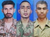 Shudas were identified as Sepoy Sajid, Sepoy Riyasat and Sepoy Babar. PHOTO: ISPR
