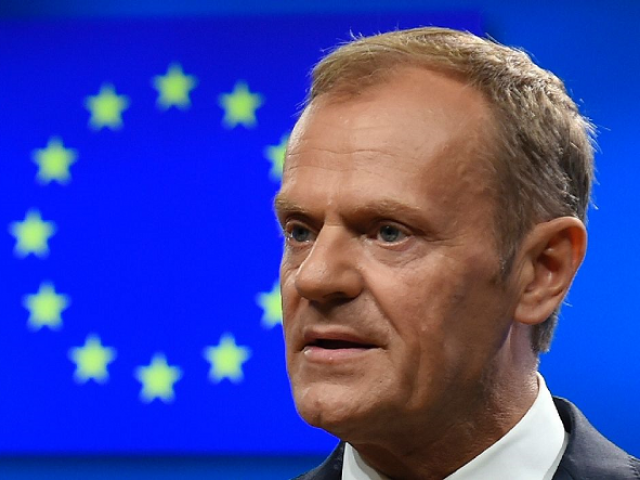 EU president Donald Tusk. PHOTO: AFP