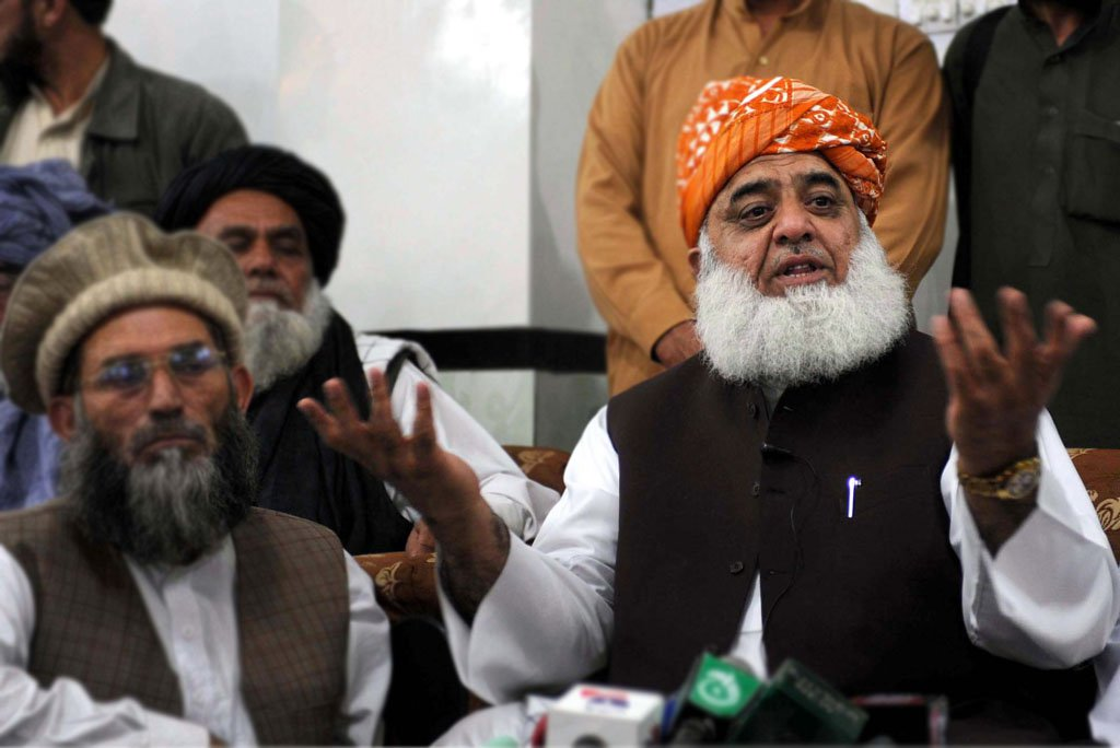 Maulana Fazlur Rehman. PHOTO: FILE