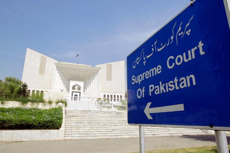 A view of the Supreme Court of Pakistan in Islamabad. PHOTO: REUTERS/FILE