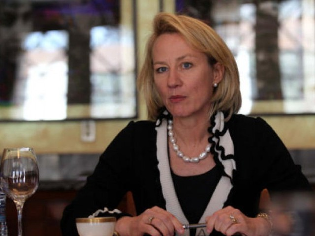 Alice Wells says CPEC would profit only Beijing, while US offers Islamabad a better model. PHOTO: REUTERS/FILE