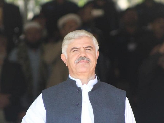 Khyber Pakhtunkhwa Chief Minister Mahmood Khan. PHOTO: PTI