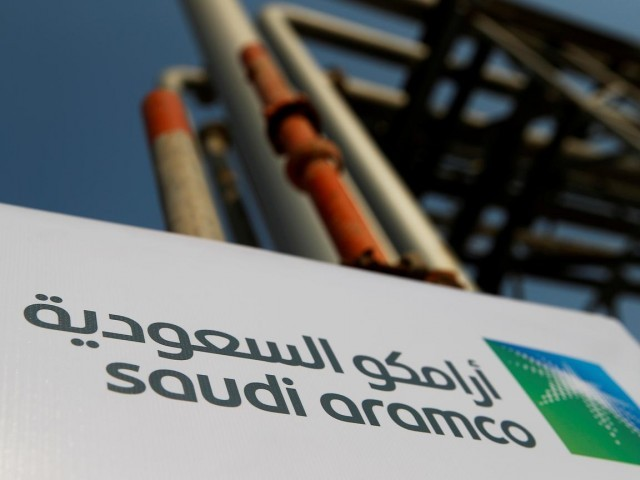 State-owned Saudi oil giant has so far received subscription orders for around 4.6b shares from institutions. PHOTO: REUTERS