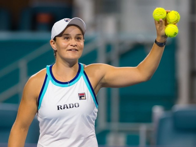 MOTIVATED: Barty's first big goal in 2020 will be to end her country's long wait for a home winner at the Australian Open which starts next month. PHOTO: AFP