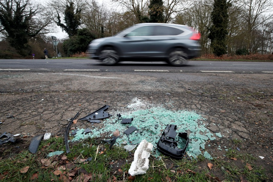 debris-is-seen-at-the-scene-where-britains-prince-philip-was-involved-in-a-traffic-accident-near-the-sandringham-estate-in-eastern-england-3