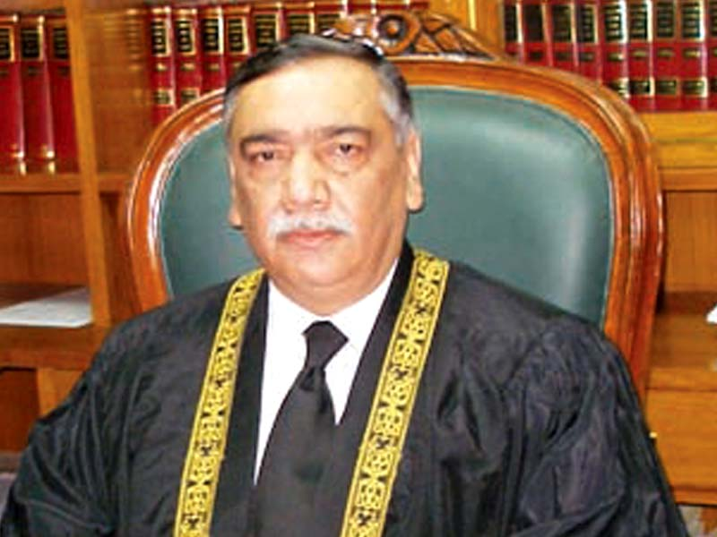 Justice Asif Saeed Khosa. PHOTO: EXPRESS