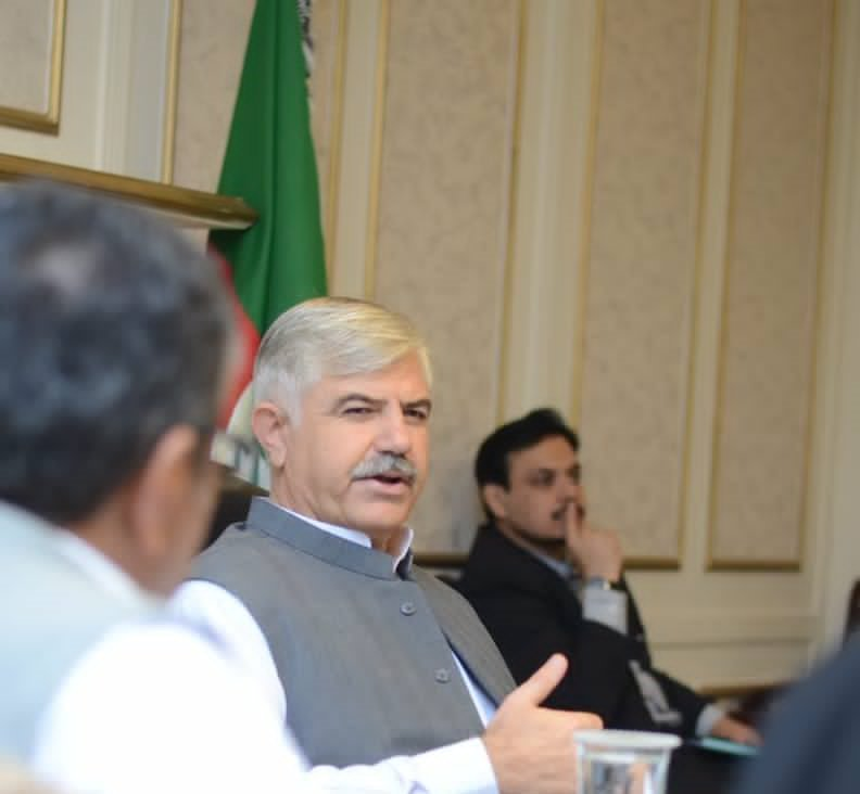K-P CM Mahmood Khan. PHOTO: PTI