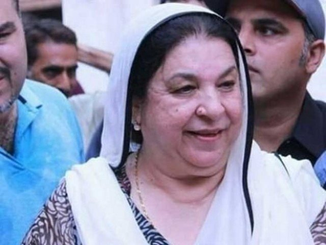 Punjab Minister for Health Dr Yasmin Rashid. PHOTO: FILE