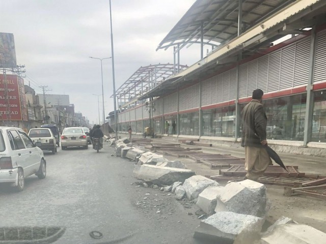Peshawar BRT. PHOTO: FILE